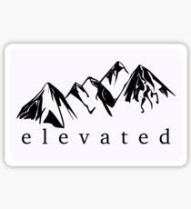 Elevated Sticker