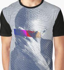 Blue Frank Censored Graphic T-Shirt