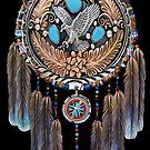 Eagle Dream Catcher by Walter Colvin