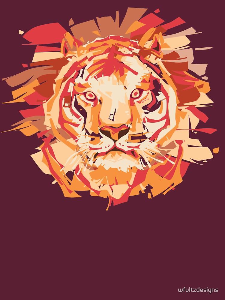 Pop Art Liger by wfultzdesigns