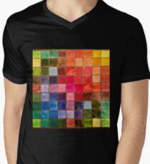 Rainbow Tiles Golden Mosaic T-Shirt