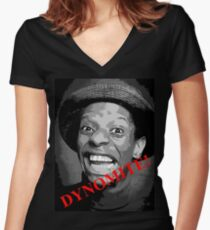 Good Times with JJ! Women's Fitted V-Neck T-Shirt