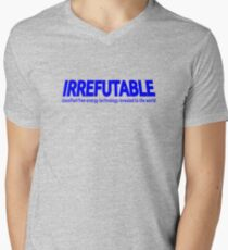 IRREFUTABLE: Classified Free-Energy Technology Revealed to the World (ZERO MARK-UP) Men's V-Neck T-Shirt