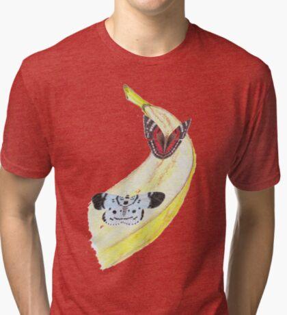 Bytterfly Banana Feast Tri-blend T-Shirt