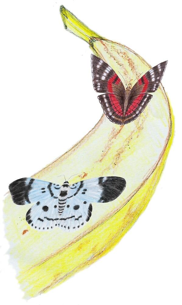 Bytterfly Banana Feast by Linda Ursin