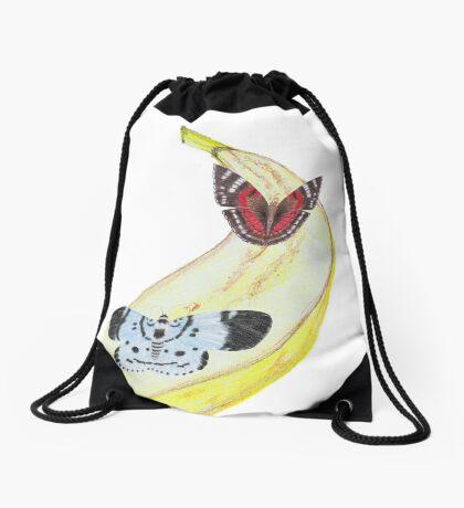 Bytterfly Banana Feast Drawstring Bag