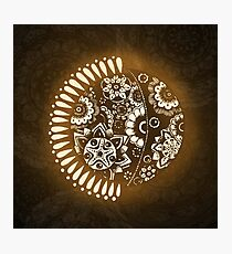 Sun & Moon Photographic Print