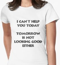 I can't help - Black T-Shirt