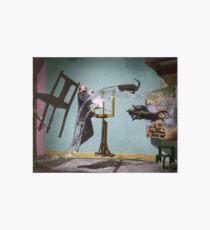 Dali Atomicus - by Philippe Halsman - colored Art Board