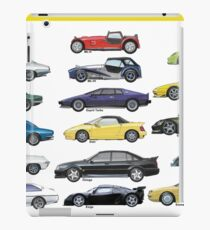 British sportscars  iPad Case/Skin