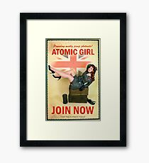 Join Now! Framed Print