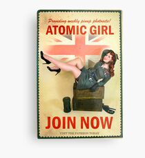 Join Now! Metal Print
