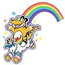 Rainbow Unicorn by Tigerdile