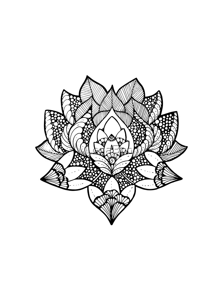 Mandala lotos yoga by LenaBond