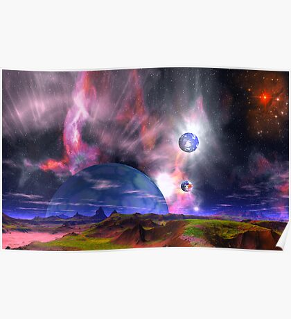 When Solar Winds Blow Poster