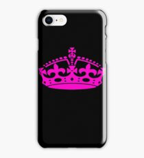 Crown - Queen - Princess - Pattern iPhone Case/Skin