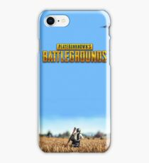 PlayerUnknown's Battlegrounds iPhone Case/Skin