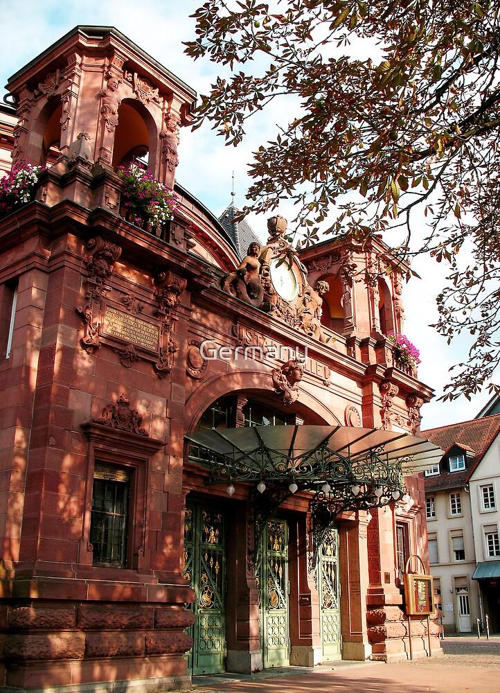 Stadthalle Heidelberg  by Germany
