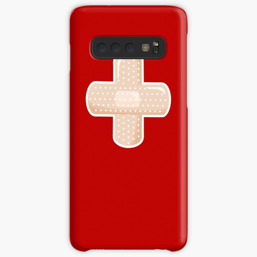 First Aid Plaster Case & Skin for Samsung Galaxy