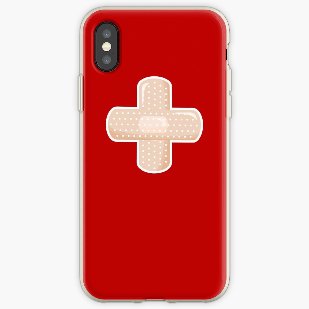 First Aid Plaster iPhone Case & Cover