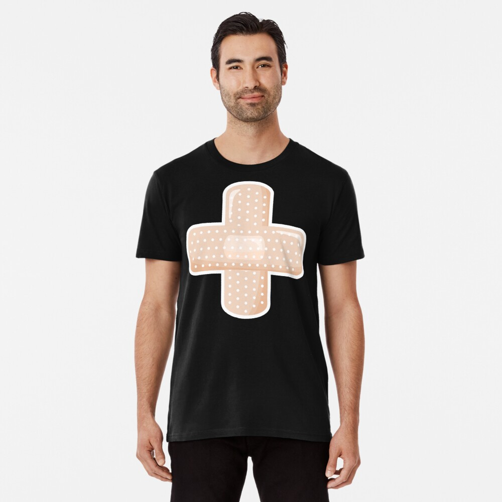 First Aid Plaster Premium T-Shirt