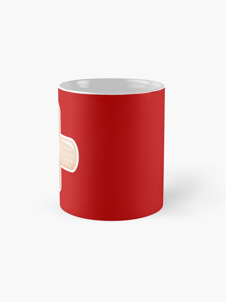 Alternate view of First Aid Plaster Mug