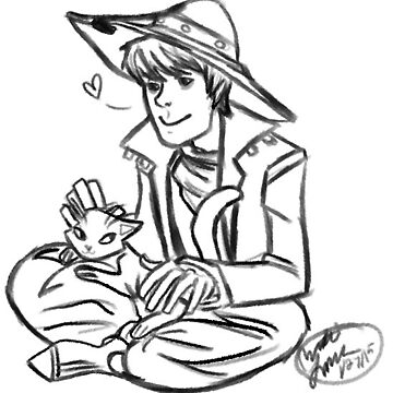 Cole and Kitty by scarvesnjumpers