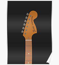 Stratocaster Guitar Poster