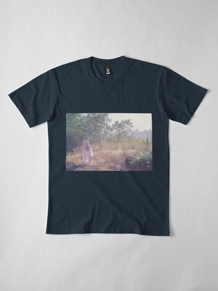 Alternate view of A Journey Into Strange Lands Premium T-Shirt