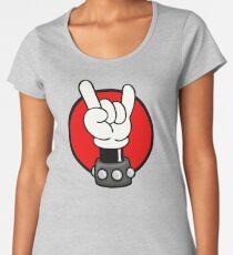 METAL - ROCKER - MOUSE Women's Premium T-Shirt