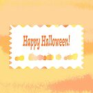 Happy Halloween Card and Stickers by Melissa J Barrett