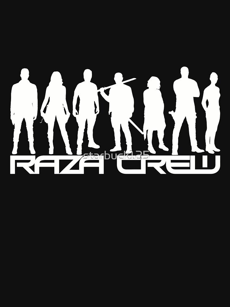 Dunkle Materie - Raza Crew Silhouetten (w) von starbuck125