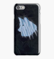 Ice wolf iPhone Case/Skin