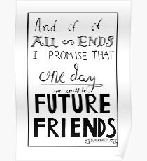 Future Friends Lyrics Poster