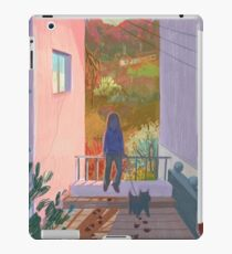 between two buildings  iPad Case/Skin