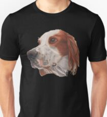 A red and white Irish Setter T-Shirt