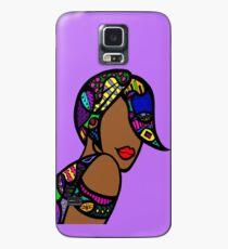 Angled Bob Case/Skin for Samsung Galaxy