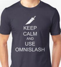 KEEP CALM AND USE OMNISLASH (WHITE) T-Shirt
