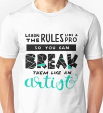 Learn the Rules like a Pro T-Shirt