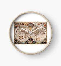 Reloj Mapa del Viejo Mundo