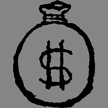 Money Bag Sketch by londonlew