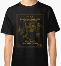 Retrò Jazz Cat-Show Classic T-Shirt