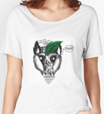 Loki - The Hiding from birds owl Women's Relaxed Fit T-Shirt
