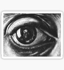 M. C. Escher - Eye Sticker