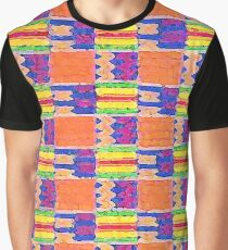 African Influence Textile Graphic T-Shirt