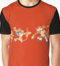 Chimchar Evolution Graphic T-Shirt