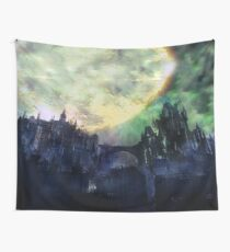 Fantasy Landscape: Explosion in the sky Wall Tapestry