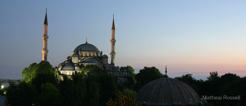 Istanbul Dawn by Mathew Russell