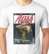 Pizza Comics - Featuring Michelangelo T-Shirt
