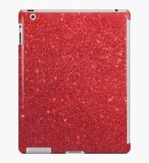 Shiny Sparkly Christmas Cherry Red Glitter iPad Case/Skin